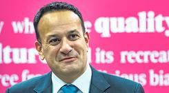 Issue of rights: Leo Varadkar's Government has been accused of failing the homeless. Photo: Arthur Carron