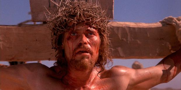 Controversy: Willem Dafoe as Jesus in 'The Last Temptation of Christ'