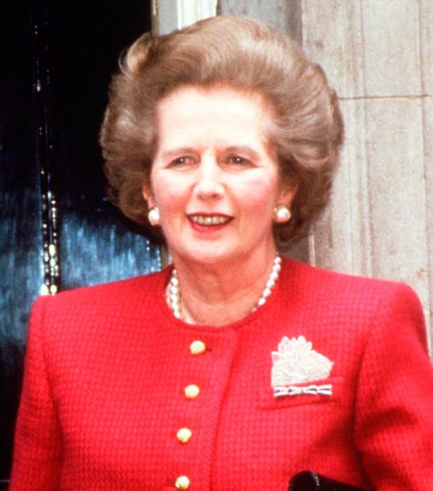 Disturbed: British PM Margaret Thatcher