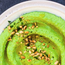 Green pea hummus by Indy Power