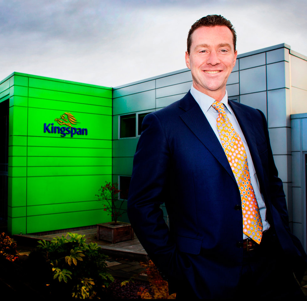 Kingspan CEO Gene Murtagh has managed to keep the company's share price broadly stable in what has been a tumultuous year for Irish-listed companies