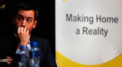 Housing Minister Eoghan Murphy is in charge of a portfolio which has dogged the Government. Picture; Gerry Mooney