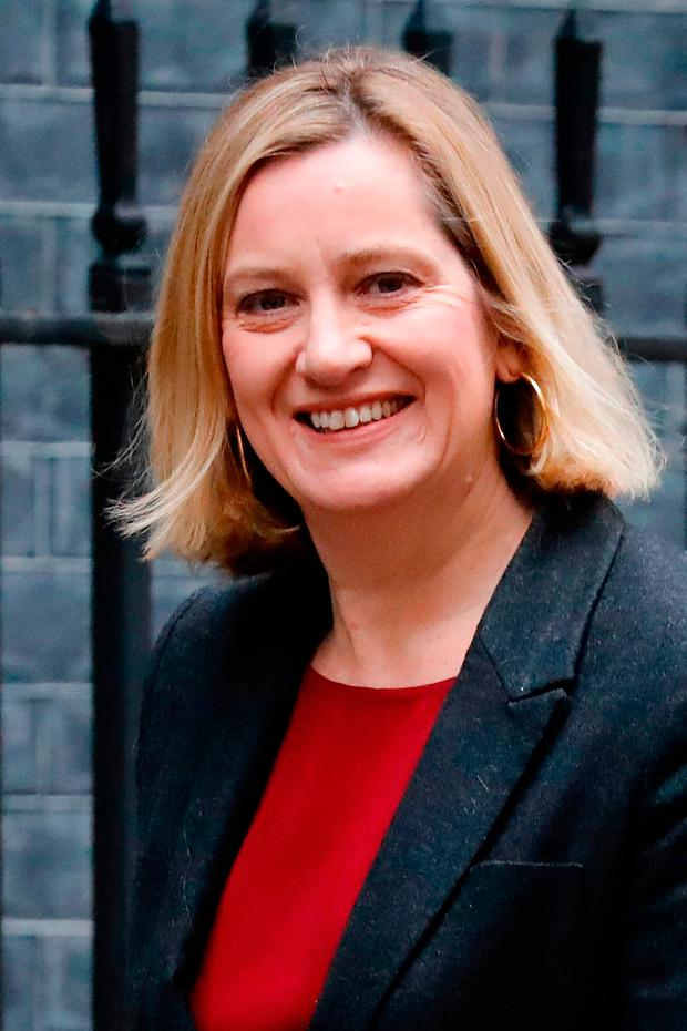 Britain's Work and Pensions Secretary Amber Rudd. Photo: Getty Images