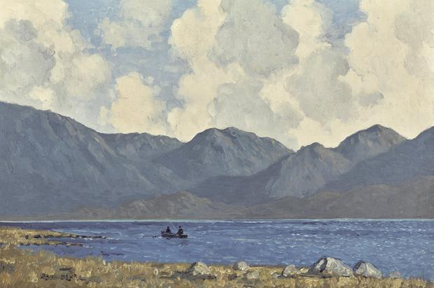 'Windy Day, Co Keery' by Paul Henry