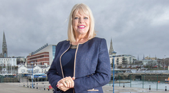 Mary Mitchell O'Connor, Minister for State for Higher Education, in Dun Laoghaire. Photo: Tony Gavin