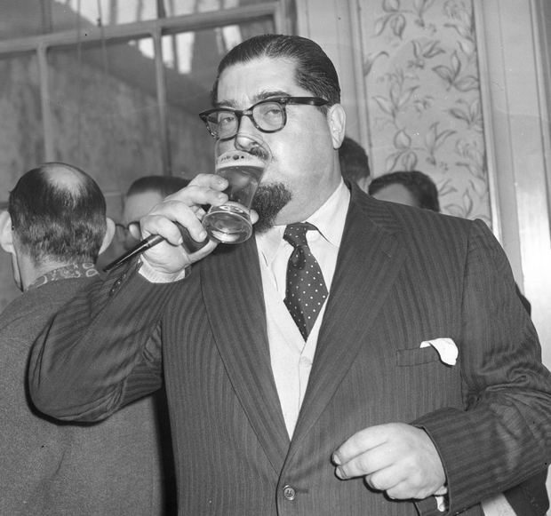 Dr Paul Singer pictured in 1960