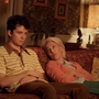 Asa Butterfield and Gillian Anderson in Sex Education, Netflix