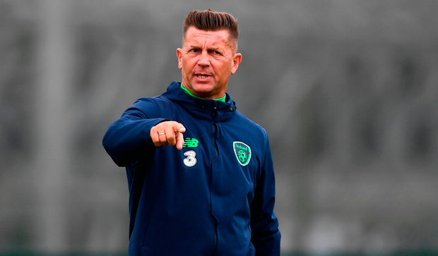 Ireland manager Colin Bell, whose charges are now ranked 33rd in the world. Photo by Stephen McCarthy/Sportsfile