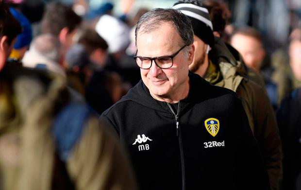 Marcelo Bielsa. Photo by George Wood/Getty Images