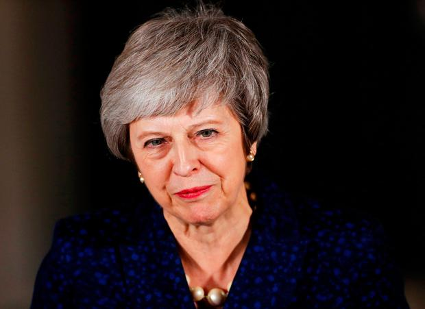 Theresa May has a fight on her hands to get her deal approved. Photo: REUTERS