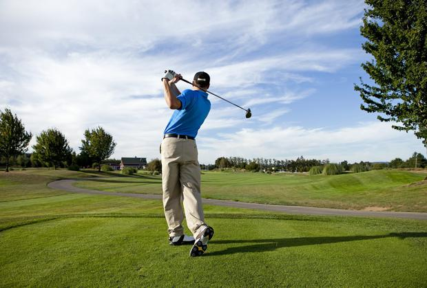 One golf course used 1,000,000 litres a day as drought peaked. Stock Image