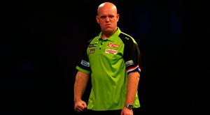 Van Gerwen is hoping to win his third title. Photo credit: Steven Paston/PA Wire