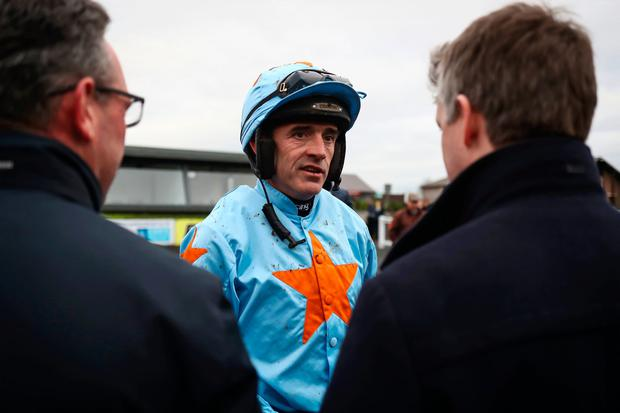 Walsh settled his mount at the rear of the five-runner field for much of the two-and-a-half-mile journey.
