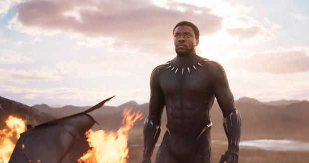 Success: Chadwick Boseman in 'Black Panther', which made $700m in North America