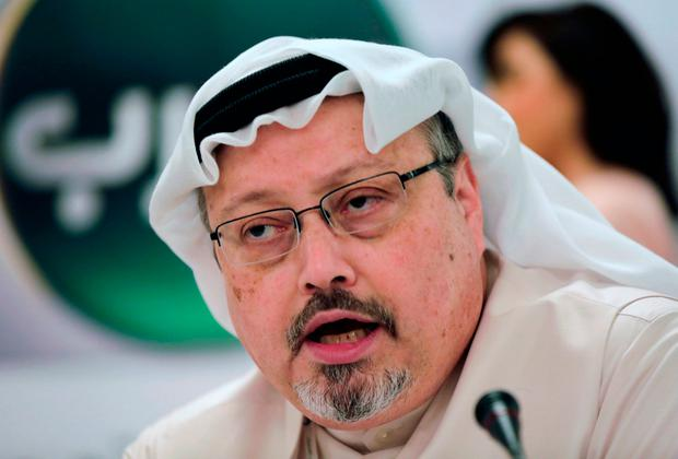 Mystery: Jamal Khashoggi was murdered in Istanbul in October. Image: AP Photo/Hasan Jamali, File