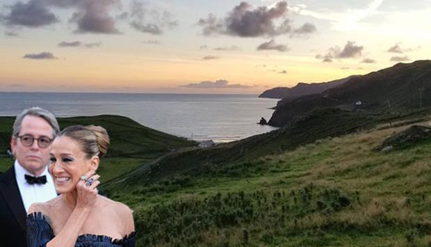 Sarah Jessica Parker and Matthew Broderick spent New Year's in Donegal