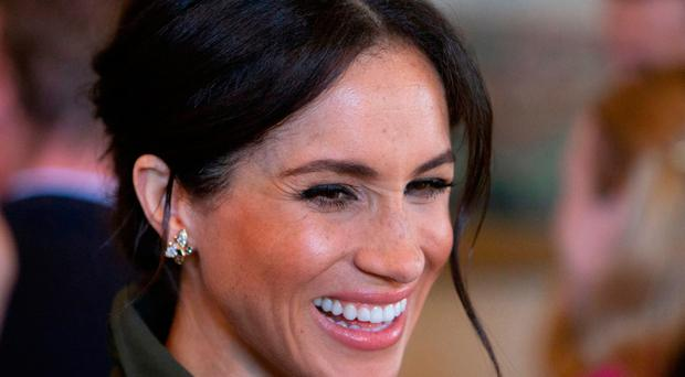 Britain's Meghan, Duchess of Sussex in Australia