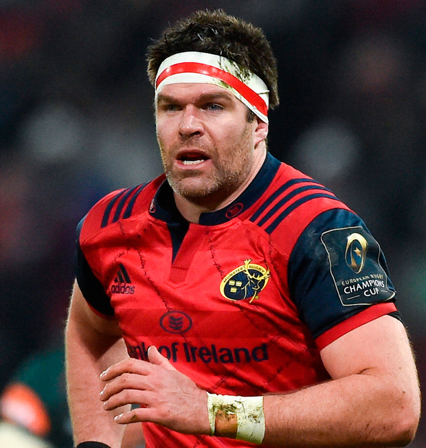 Munster's Billy Holland. Photo: Sportsfile
