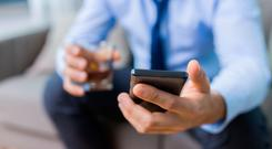 Smartphone use around the clock is 'becoming normalised'. Stock picture