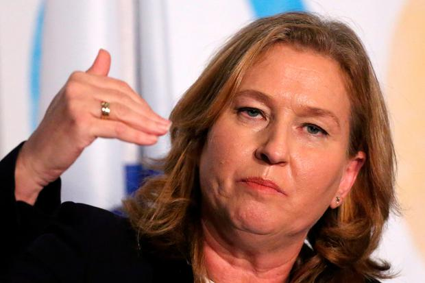 Political drama: Israel's former foreign minister Tzipi Livn. Photo: REUTERS/Andrew Kelly