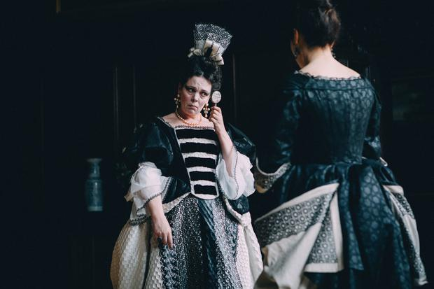 The Favourite. Pictured: Olivia Colman as Queen Anne. PA Photo/Twentieth Century Fox Film Corporation/Atsushi Nishijima. All Rights Reserved.