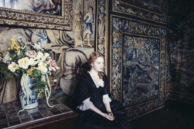 The Favourite. Pictured: Emma Stone as Abigail Hill. PA Photo/Fox Searchlight Pictures/Yorgos Lanthimos. All Rights Reserved.