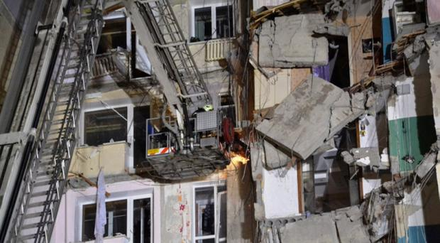 Death toll from Russian apartment building collapse reaches 39