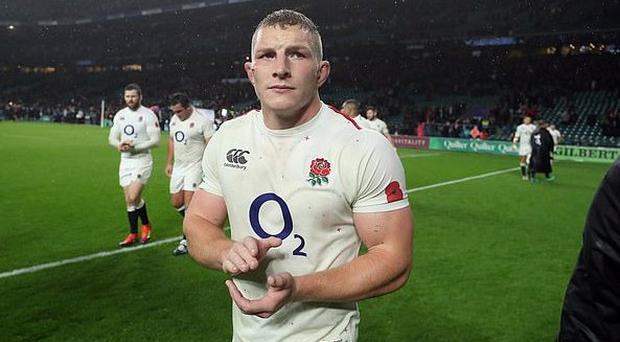 Eddie Jones dealt a major blow as flanker Underhill is ruled out of England's Six Nations campaign
