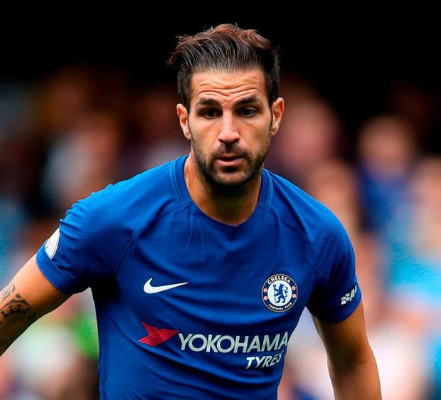 Cesc Fabregas. Photo: John Walton/PA Wire