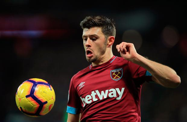 West Ham's Aaron Cresswell. Photo: Getty Images