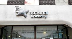 Lucky winners collected more than €1,375,000 in prizes at the National Lottery's headquarters today