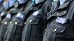 A high-ranking garda officer who is under investigation by GSOC has been suspended from duty Stock picture