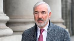 Bankruptcy: Businessman Seán Dunne had debts of €700m in 2013. Photo: Collins Courts