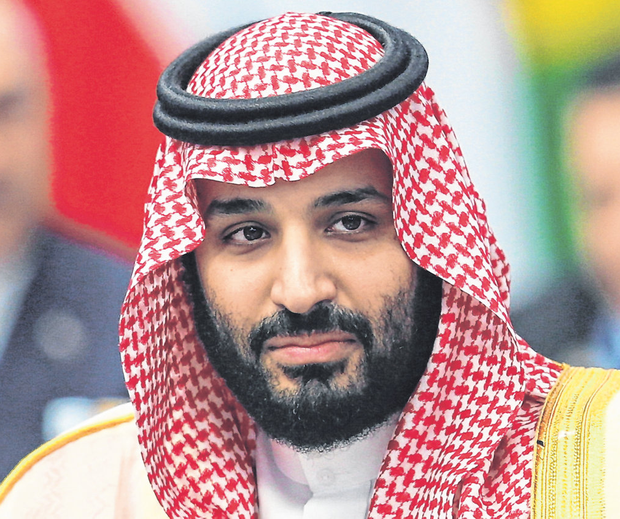 Saudi Arabian Crown Prince Mohammed bin Salman at a G20 leaders summit in Buenos Aires, Argentina, last year. Photo: Reuters