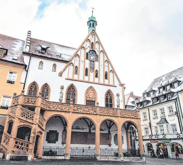 The town hall of Amberg, southern German. Photo: Getty Images