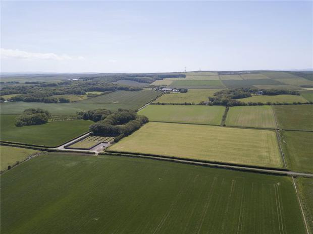 The mixed arable and stock farm with exceptional views across Dunnet Bay to Orkney. Images: Strutt & Parker.