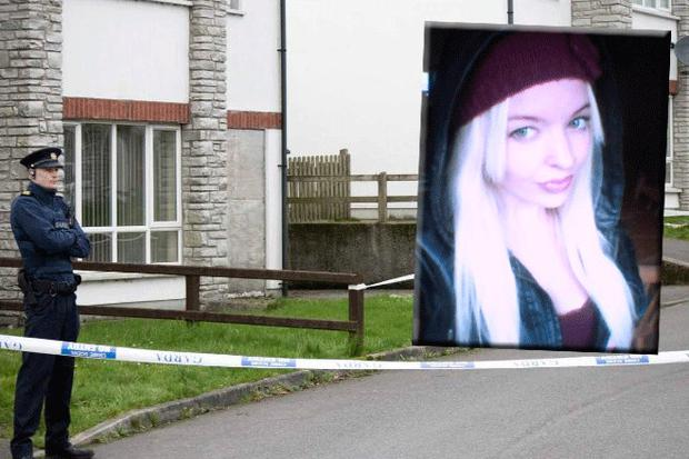 Jasmine McMonagle (inset) was found dead at her home in Donegal this morning