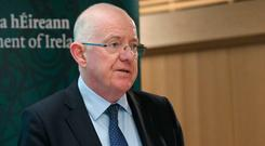 Support: Justice Minister Charlie Flanagan declared support for plan. Photo: Damien Eagers / INM