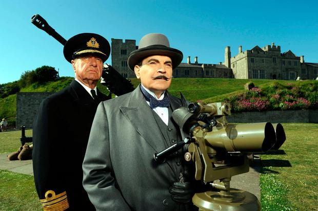 David Suchet may have retired Poirot, but the Belgian sleuth has been brought back to life by Sophie Hannah in 'The Mystery of Three Quarters'