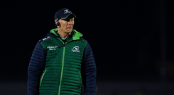 28 December 2018; Connacht head coach Andy Friend prior to the Guinness PRO14 Round 12 match between Connacht and Ulster at the Sportsground in Galway. Photo by Piaras Ó Mídheach/Sportsfile