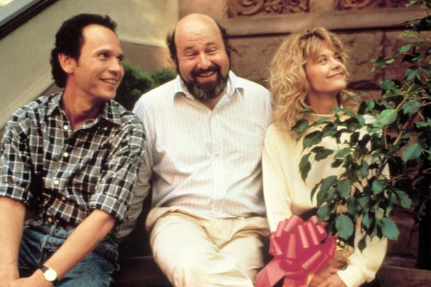 WHEN HARRY MET SALLY..., Billy Crystal, Director Rob Reiner, Meg Ryan, 1989. (c) Columbia Pictures/ Courtesy: Everett Collection.