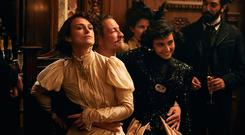 Keira Knightley, Dominic West and Aiysha Hart in Wash Westmoreland's 'Colette'