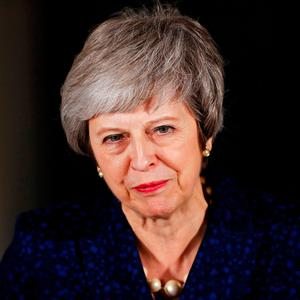 If Theresa May could find a sensible solution in Brexit talks that would certainly change our outlook and make for a much stronger year all round. Photo: Reuters