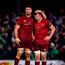 Jean Kleyn of Munster celebrates with team-mate Peter O'Mahony