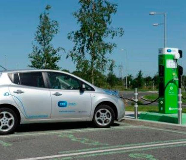'FILLING UP': Charging point