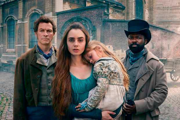 The mammoth novel of social protest is now a lavish drama on BBC1 starring Dominic West, Lily Collins and David Oyelowo. Photo: Mitch Jenkins
