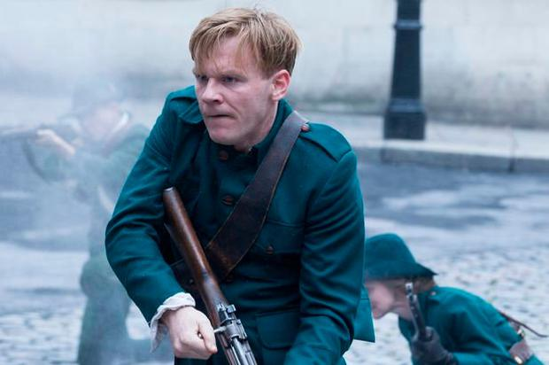 FAMILY FORTUNES: Brian Gleeson in a scene from 'Resistance'
