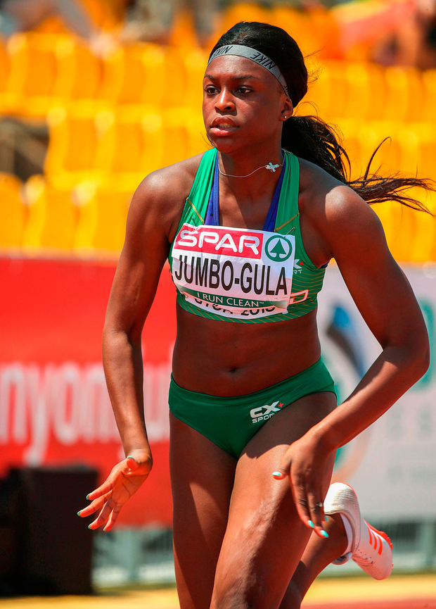 Patience Jumbo-Gula benefitted from the recent Irish athletes' workshop. Photo by Giancarlo Columbo/Sportsfile
