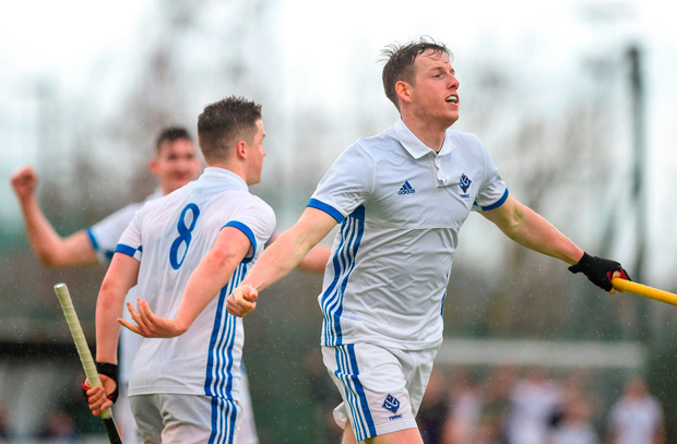Hattrick hero: Ross Canning. Photo by David Fitzgerald/Sportsfile