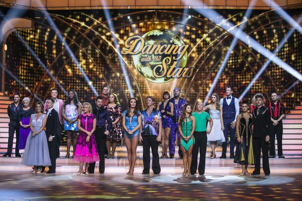 The first live show of Dancing With The Stars